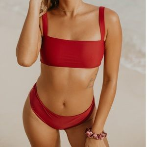 Other - Maroon bikini set